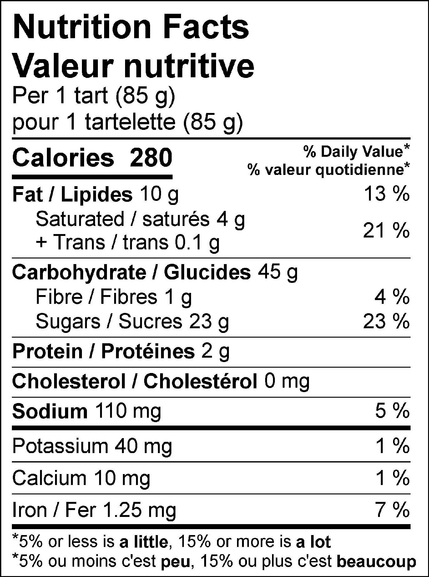 40033 - TWC Minced Fruit Tarts