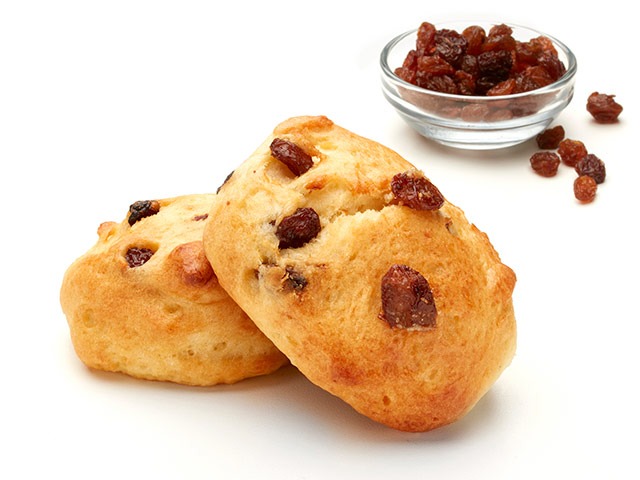 Raisin Scone Beauty Shot