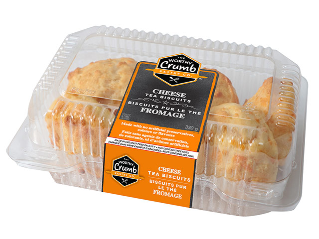 Cheese Tea Biscuit Product Packaging