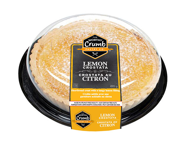 Lemon Crostata Product Packaging