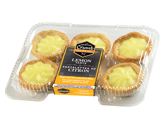 Lemon Tart Product Packaging