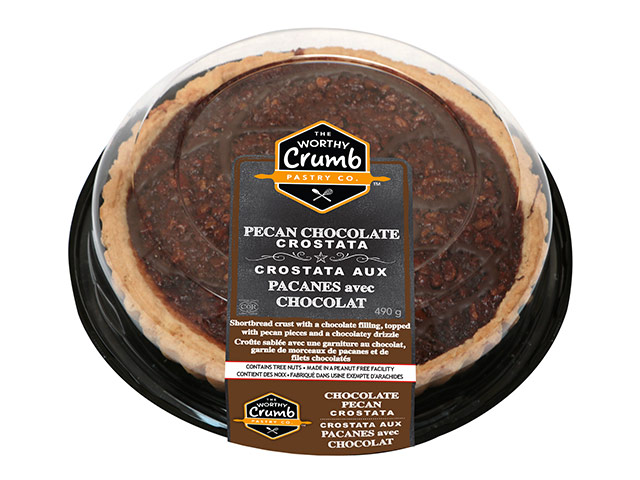 Pecan Chocolate Crostata Product Packaging