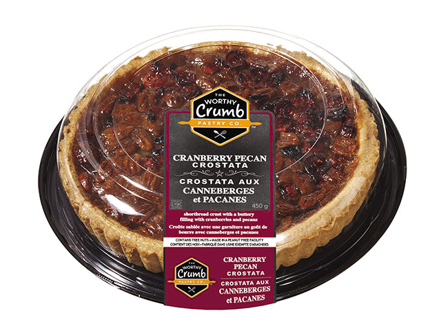 Pecan Cranberry Crostata Product Packaging
