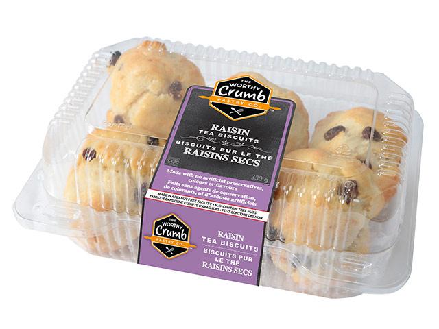 Raisin Tea Biscuit 6 Pack