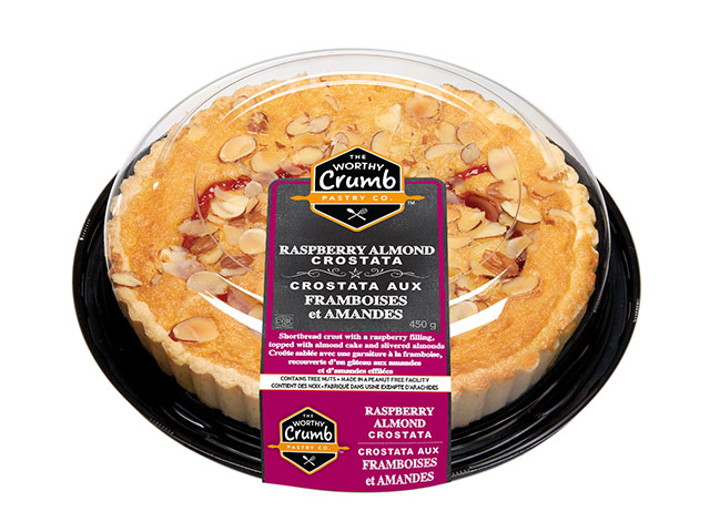 Raspberry Almond Crostata Product Packaging