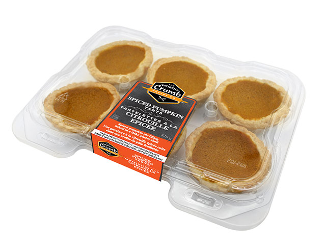 Spiced Pumpkin Tart Product Packaging
