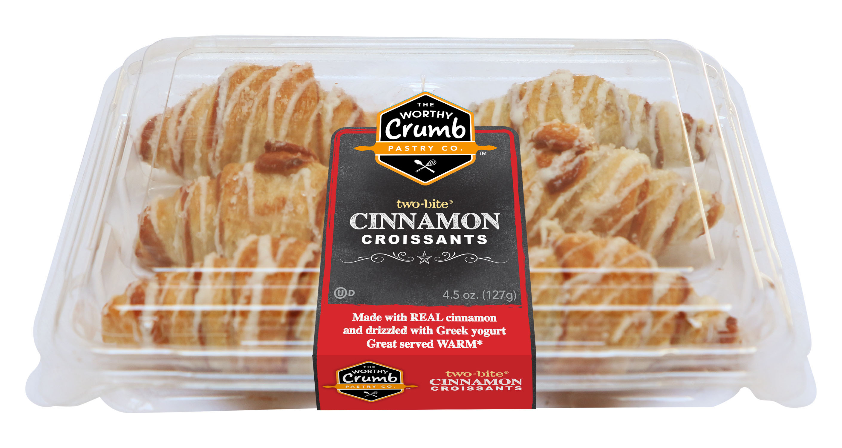 The Worthy Crumb Cinnamon Croissants - 6 packs