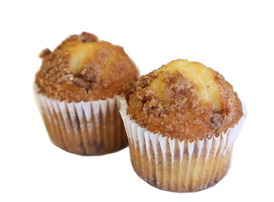 25105, 25205 TWC TB Cinnamon Bun Muffins Individual